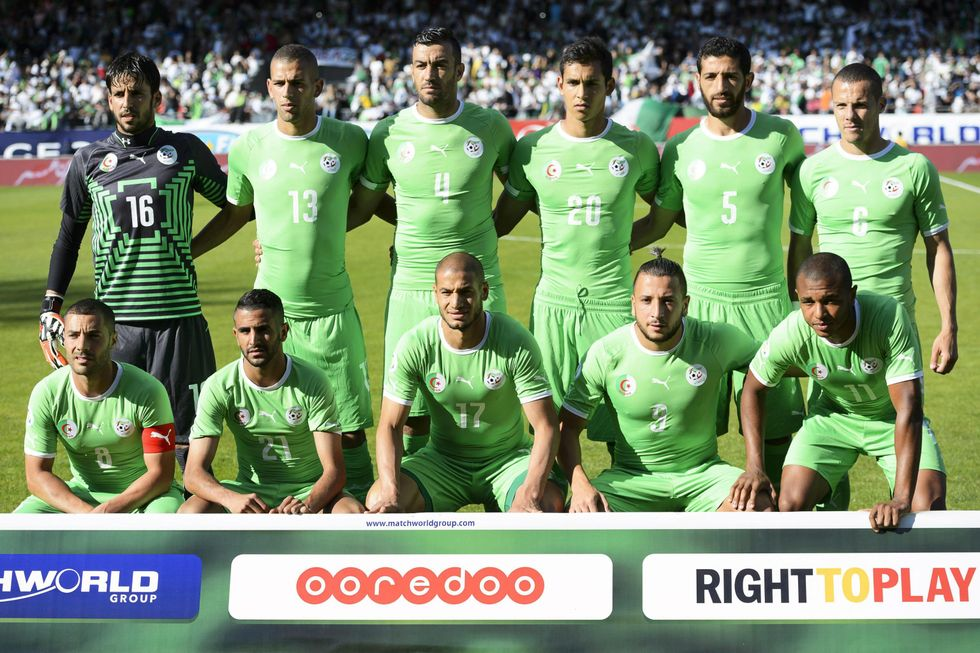 Gruppo H: l'Algeria
