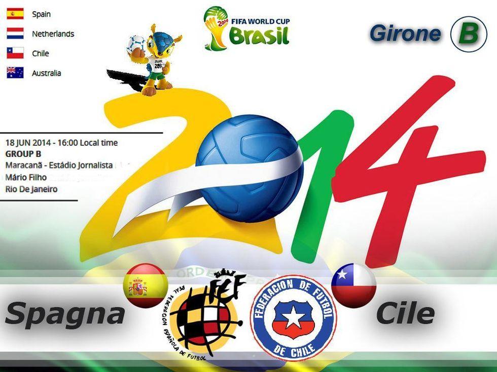 Il programma di oggi (18/6): Spagna al bivio contro il Cile