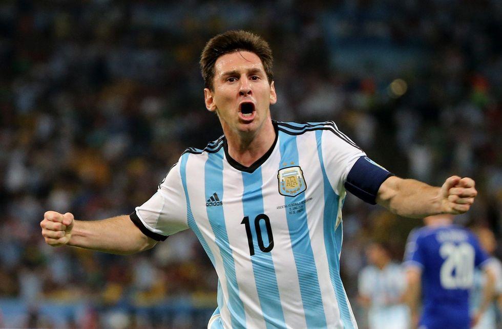 Messi, un gioiello per lanciare l'Argentina