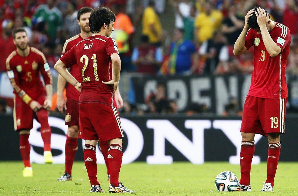 C'era una volta la Spagna: fuori dal Mondiale