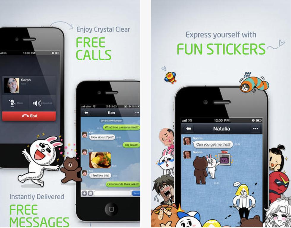 Line: arriva in Italia l'app che fa paura a Whatsapp e Facebook