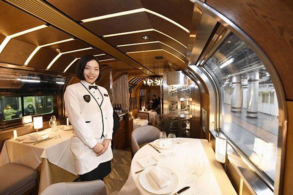 Benvenuti a bordo del treno più lussuoso del mondo