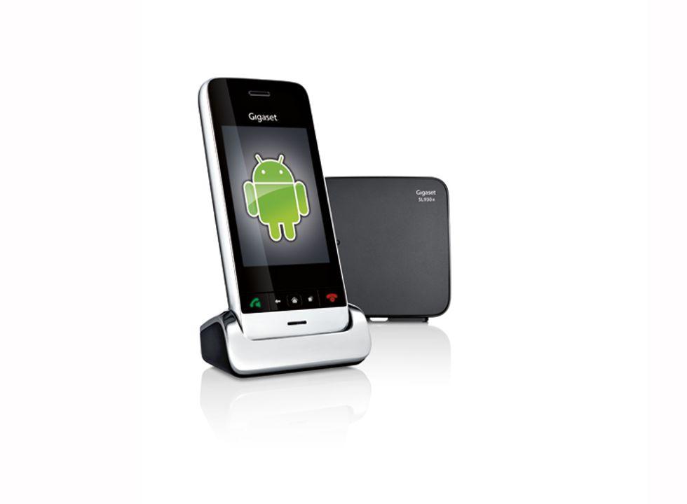 Gigaset SL930A: il cordless si è fatto Android