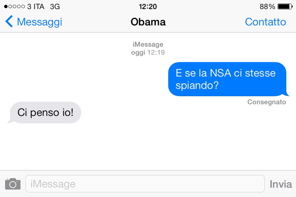 Come Apple può leggere i nostri iMessage