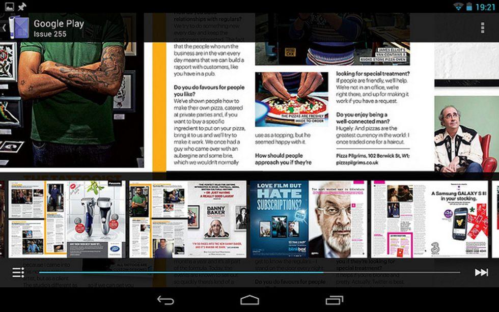 Google Play 4.4 porta l'Edicola su Android