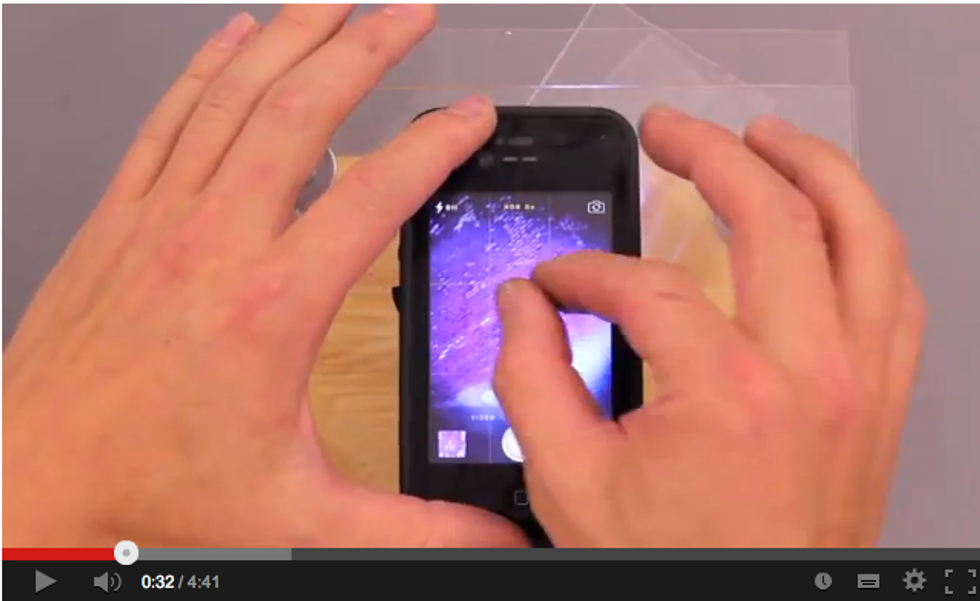 Trasforma il tuo smartphone in un microscopio