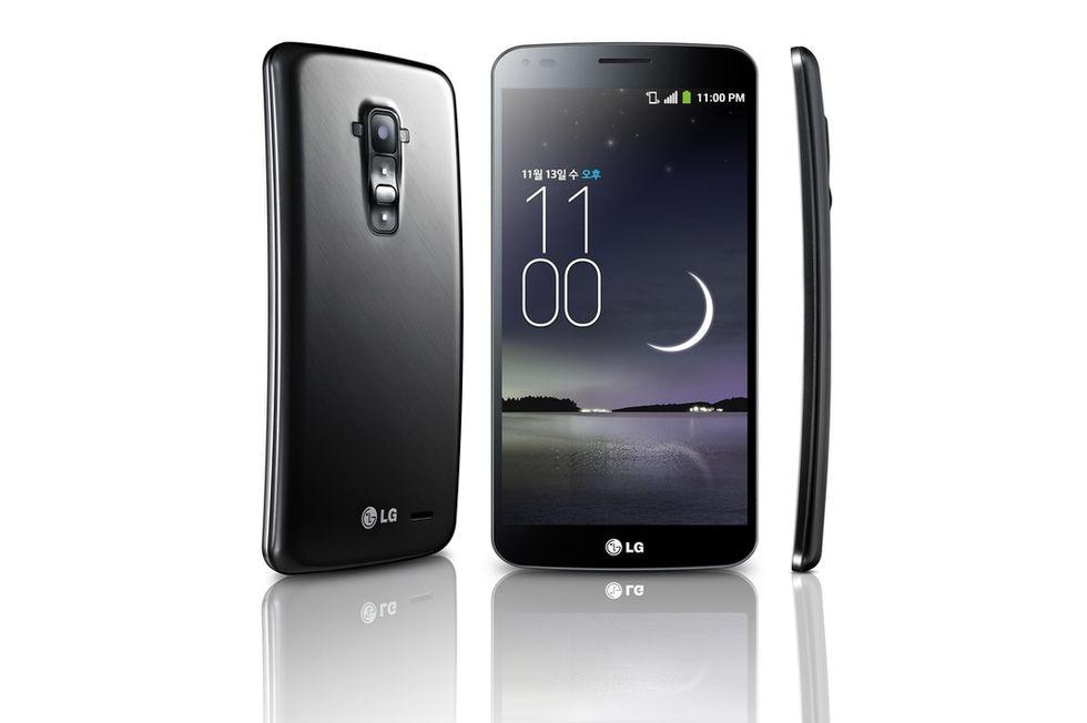 Galaxy Round e G Flex, ecco i primi smartphone a schermo curvo