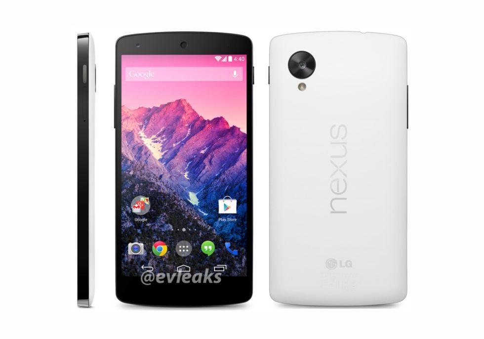 Il Nexus 5 arriva il 1 novembre