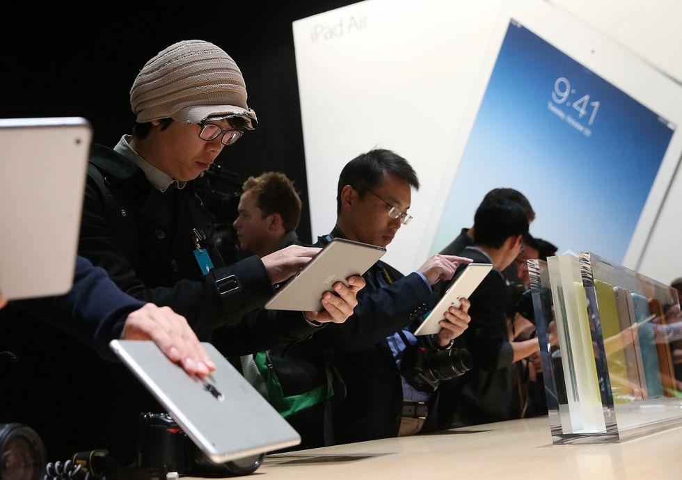 iPad Air, una questione di peso