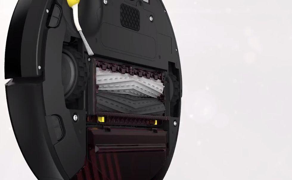 Roomba 880, il primo robot-aspirapolvere senza spazzole