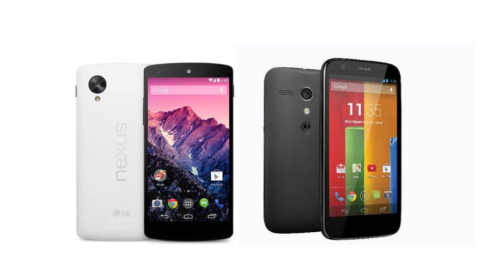 Nexus 5 contro Moto G: qual è il miglior low-cost Android?