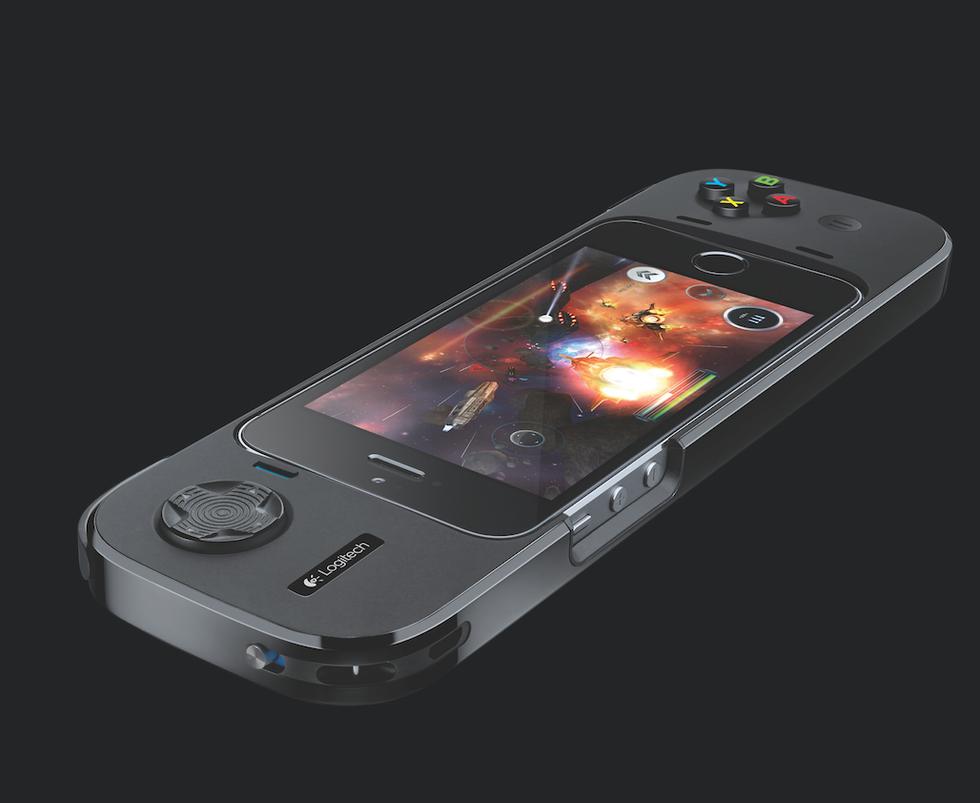 Logitech PowerShell, la custodia controller che ricarica l'iPhone 5S