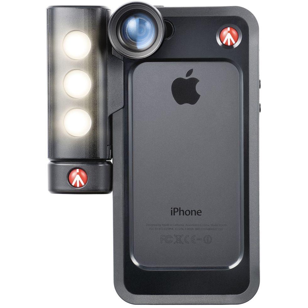 Klyp+ Manfrotto trasforma l'iPhone in una fotocamera compatta