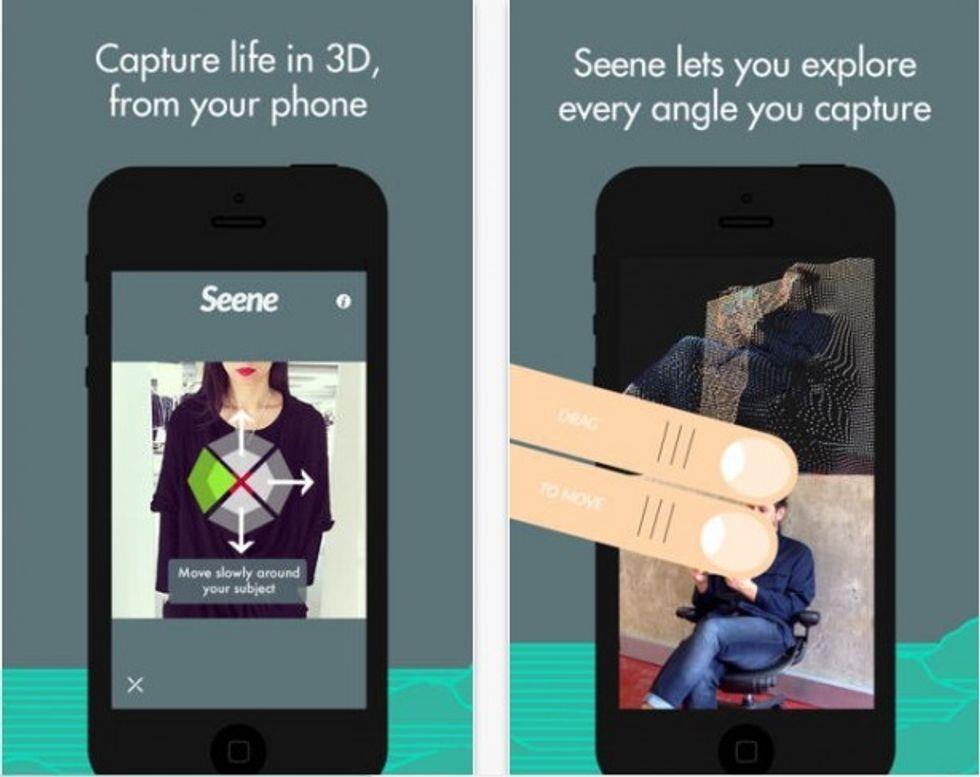 Seene: l'app per iPhone che fa le foto in 3D