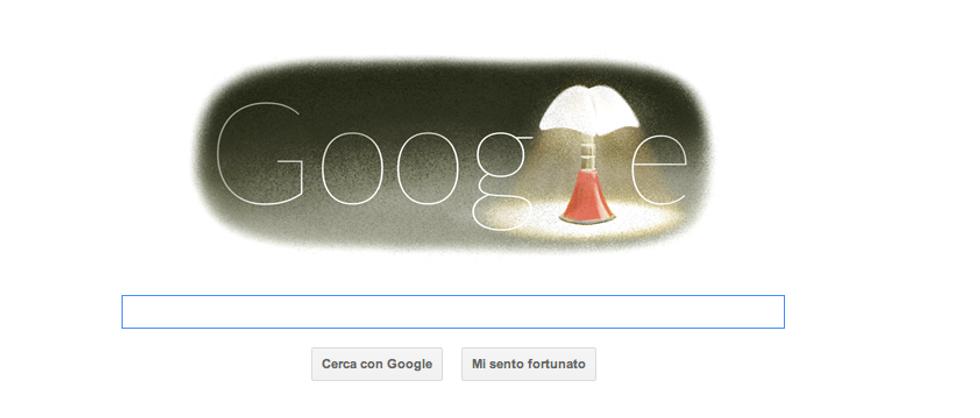 Google Doodle: Gae Aulenti