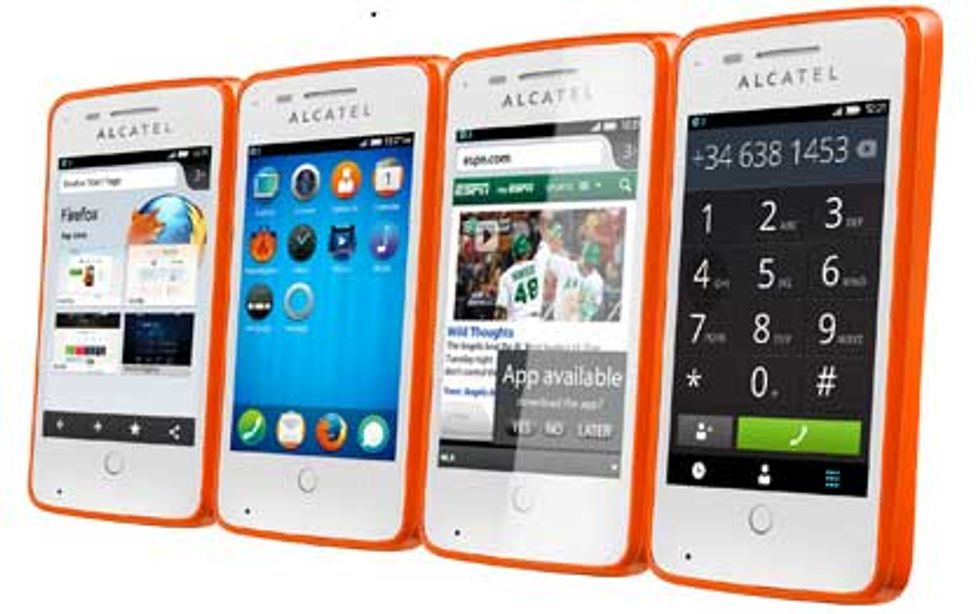 Alcaltel OneTouch Fire, il primo smartphone con Mozilla OS