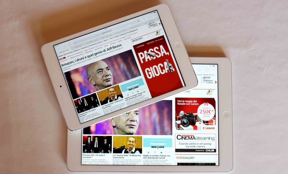 iPad Air o iPad Mini Retina? Questione di centimetri