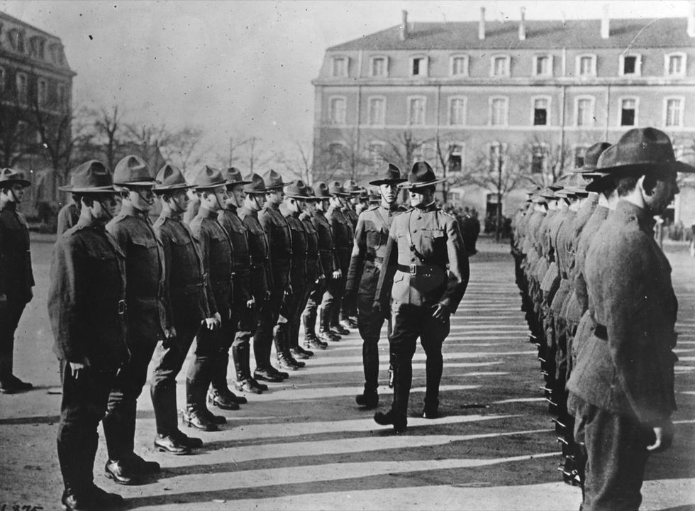 100 anni fa: gli Stati Uniti nella Grande Guerra - FOTO