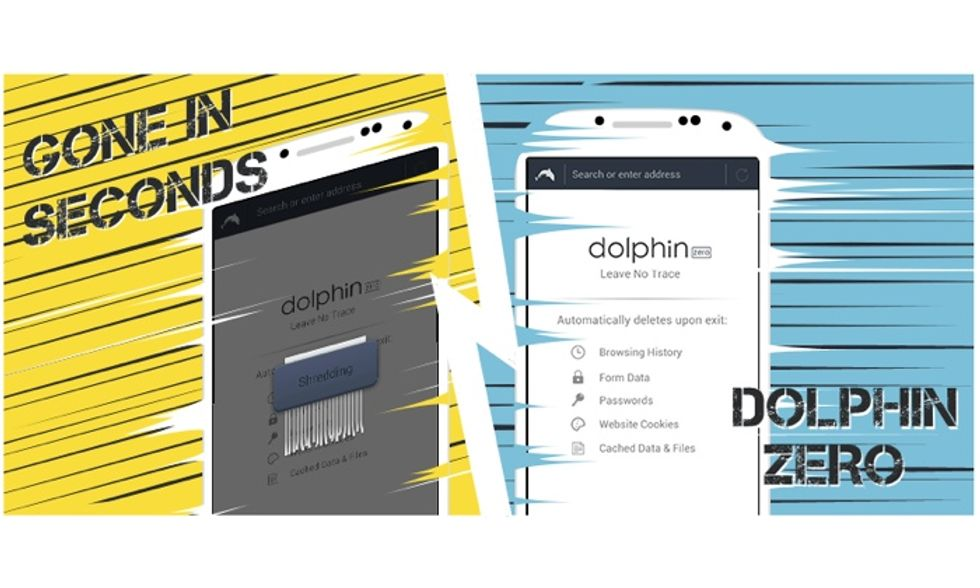 Dolphin Zero, il browser per Android che difende la privacy