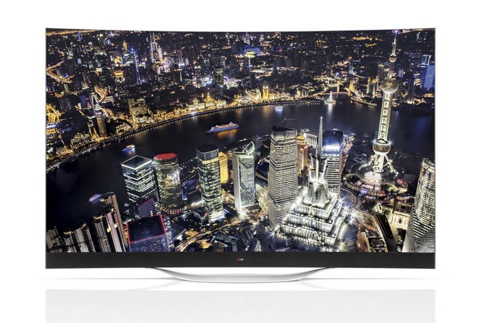 Ces 2014, da LG televisori curvi ed elettrodomestici che rispondono agli sms