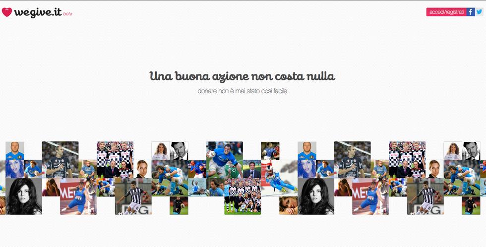 Wegive.it: Beneficenza online senza spendere