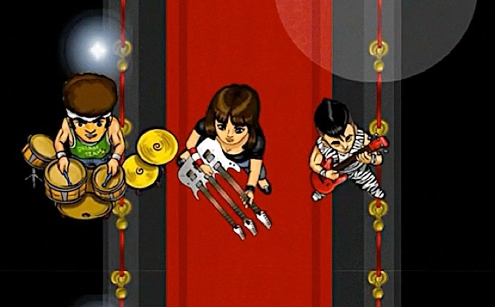 RockDude, il gioco per iPhone creato da Daniele Pietrobelli di MasterChef