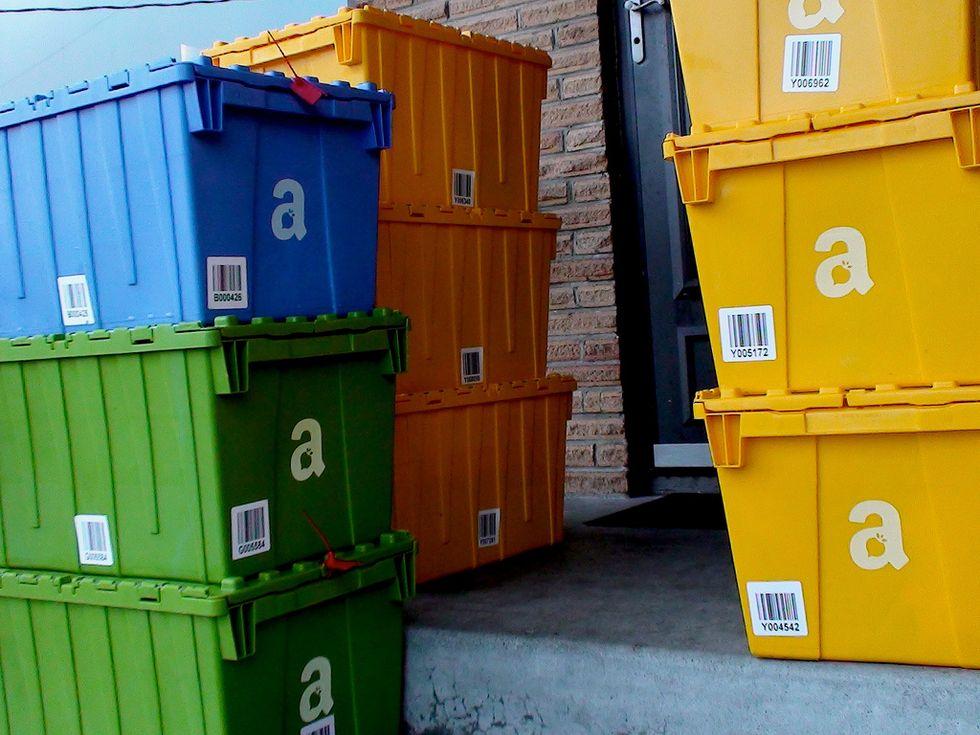 Amazon ti consegnerà pacchi prima ancora che tu li ordini