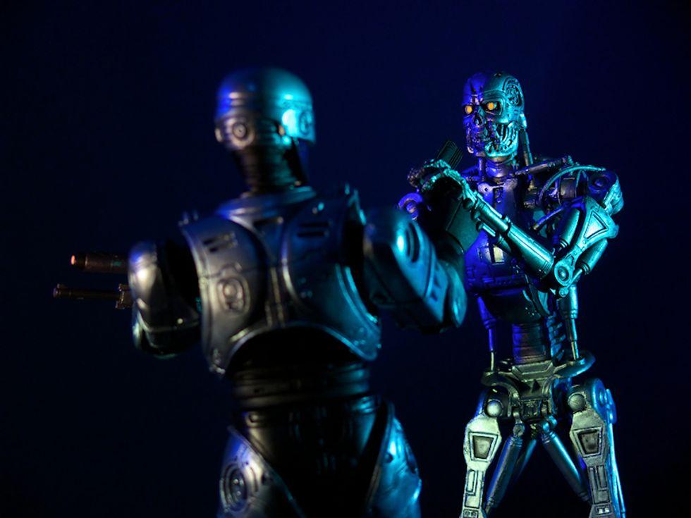 Le guerre del futuro le combatteranno eserciti robot