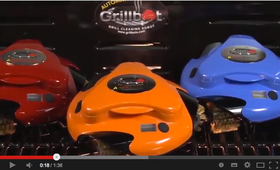 Grillbot: il robot che pulisce il barbecue