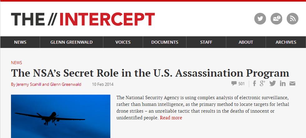 A cosa serve The Intercept: il giornale anti-Datagate