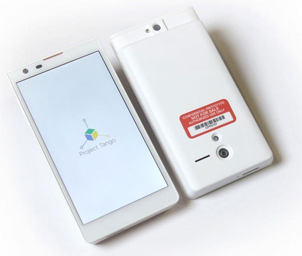 Google lavora a Project Tango, lo smartphone che funziona come un Kinect