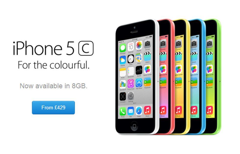 iPhone 5C: arriva la versione da 8 Gb (a prezzo ribassato)