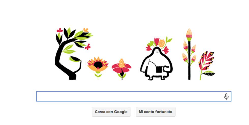 La primavera secondo Google