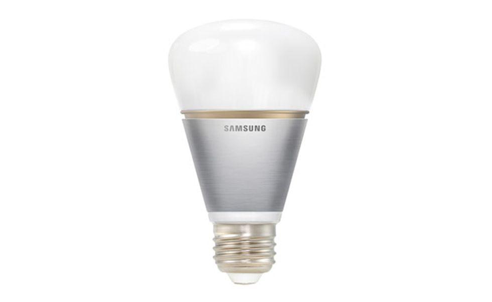 Samsung, ecco la lampadina intelligente: dura 10 anni
