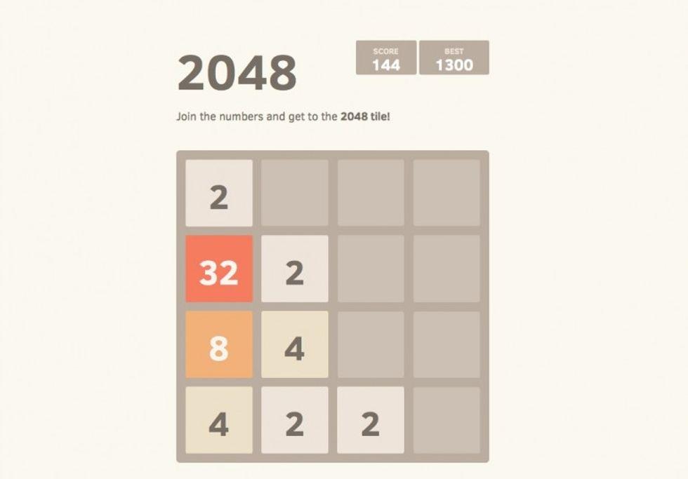 2048: 6 trucchi + 1 per vincere