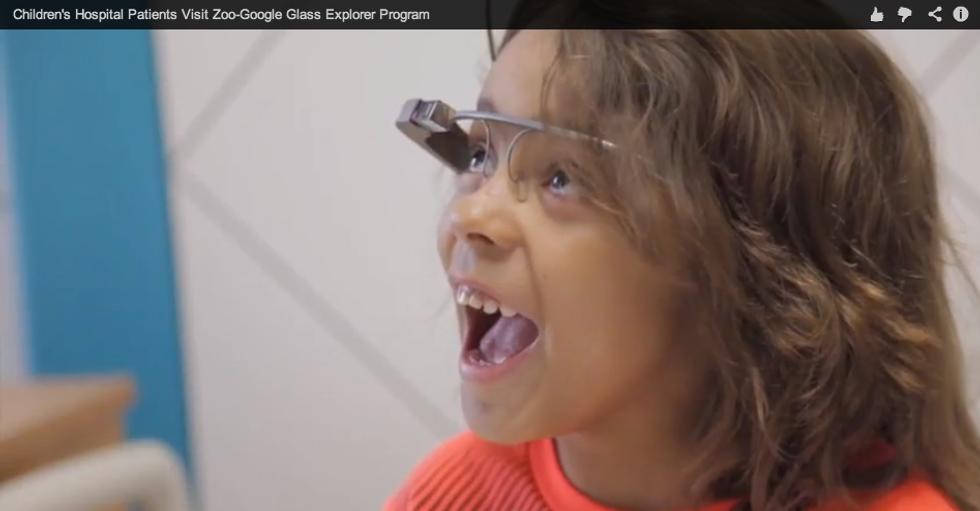 Google Glass: in aiuto dei bambini malati
