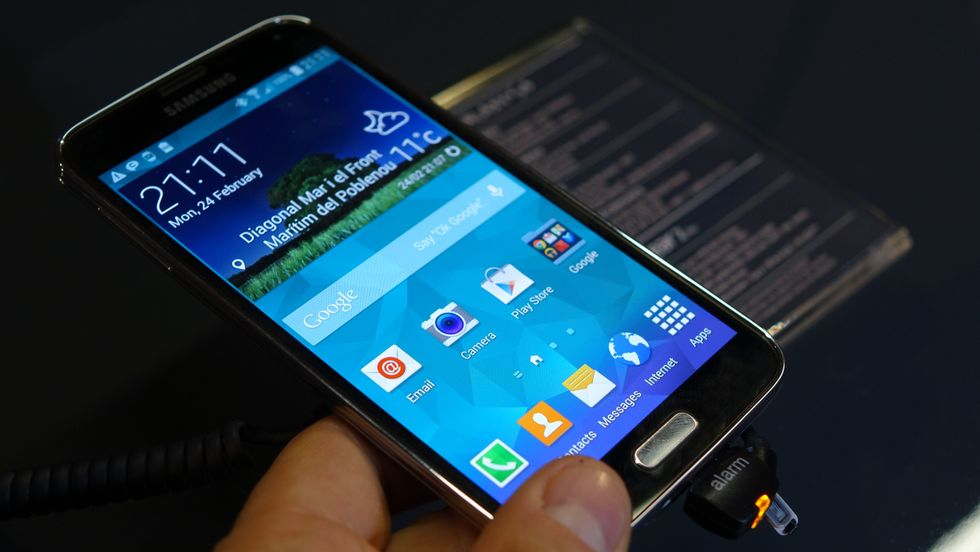 Il Samsung Galaxy S5 ha un display da favola