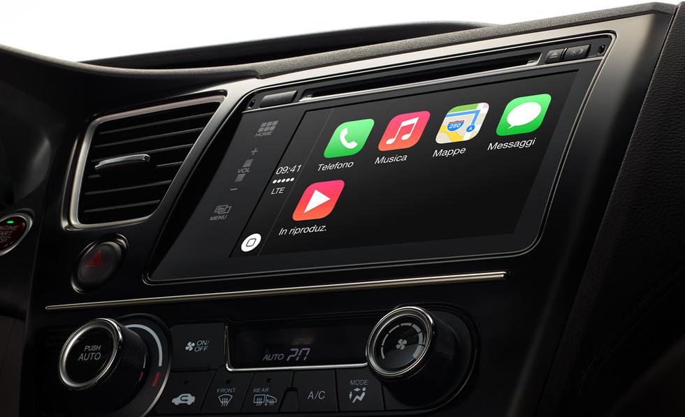 Apple CarPlay, ecco come funziona a bordo delle prime auto