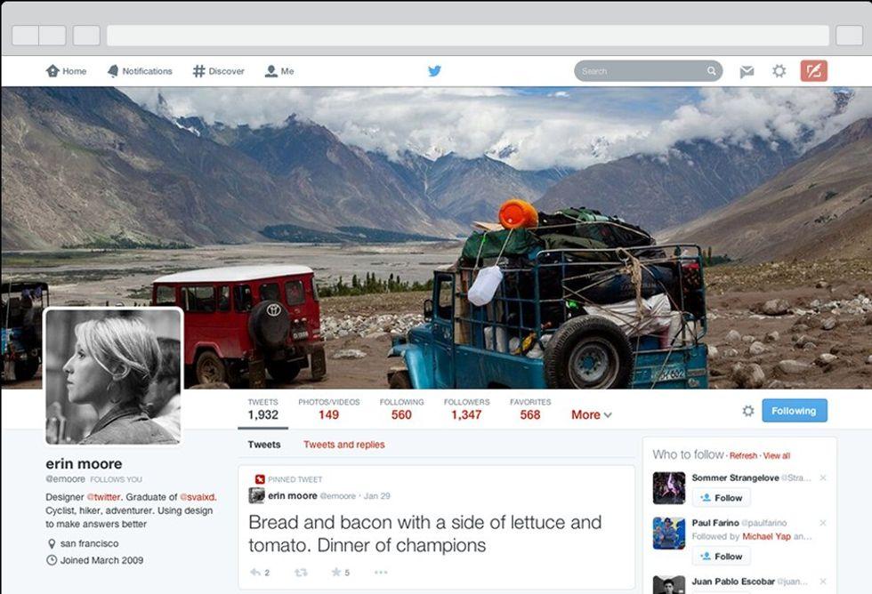 Twitter, ecco cosa va e cosa non va nelle nuove pagine profilo