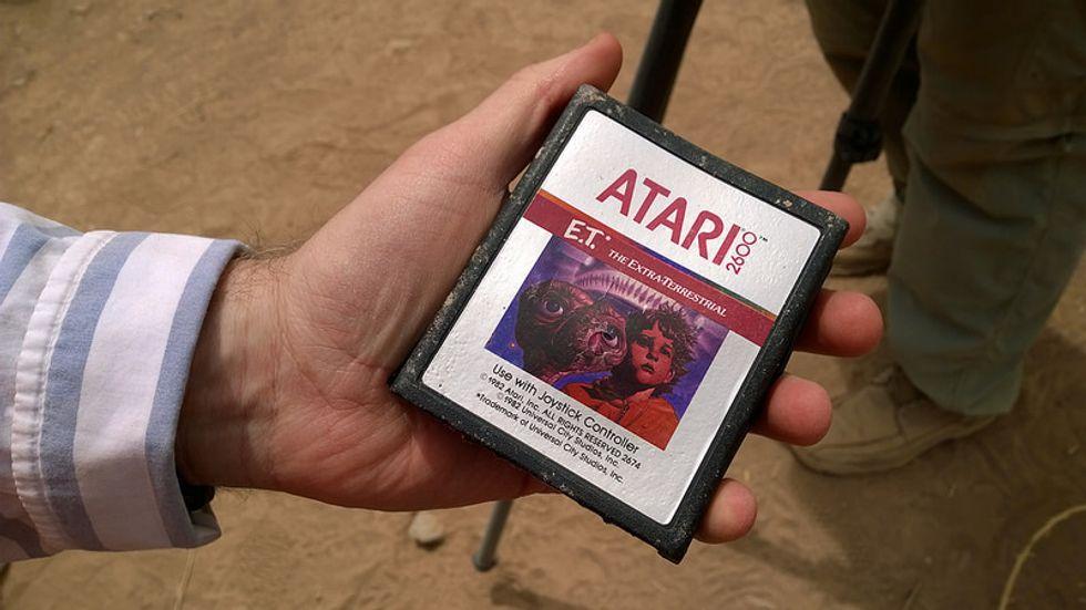 Ritrovate le cartucce Atari sepolte nel deserto