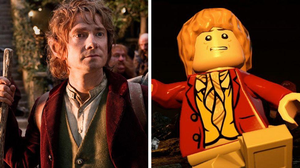 LEGO Lo Hobbit, dal cinema al gioco