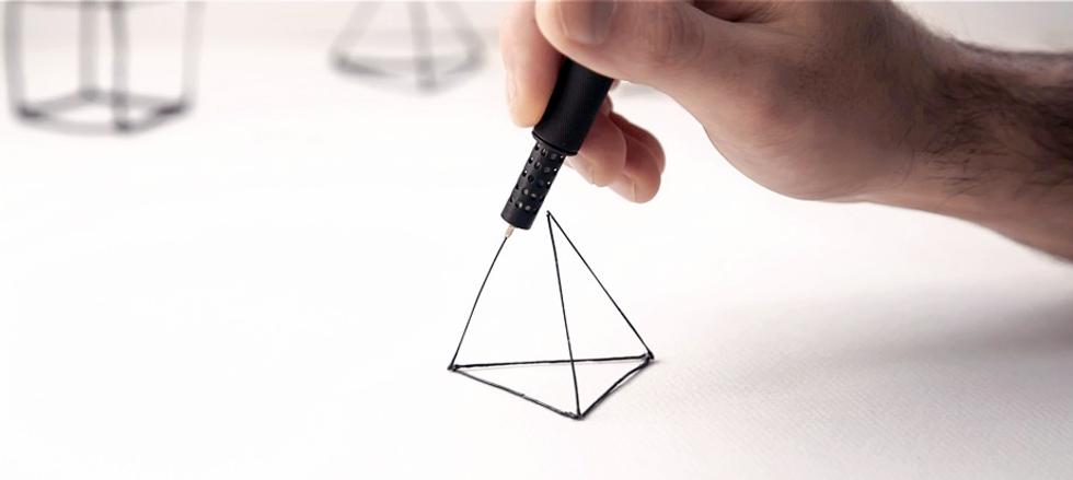 Lix: la penna che disegna in 3D