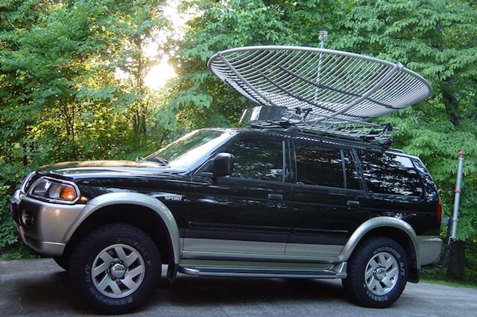 Presto la tua auto diventerà un'antenna su ruote