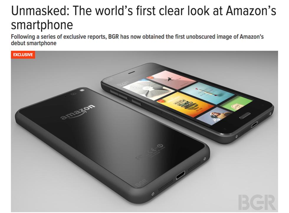 Amazon: ecco le prime immagini del Kindle phone