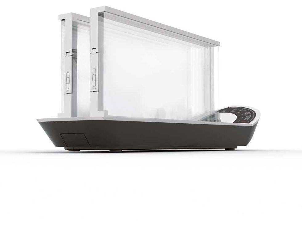 Bugatti: arriva il tostapane trasparente