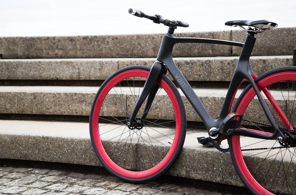 Valour, la bici hitech del futuro (prossimo)