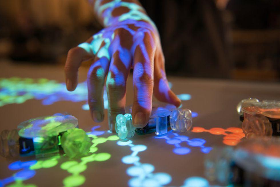 Thumbles, il primo touchscreen robotico