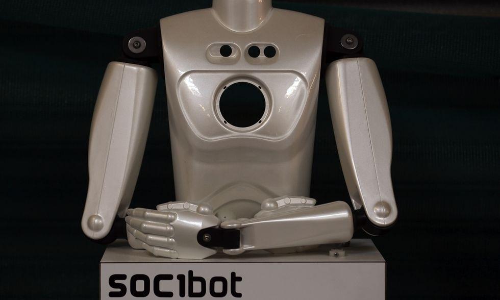 Quel robot mi sta guardando