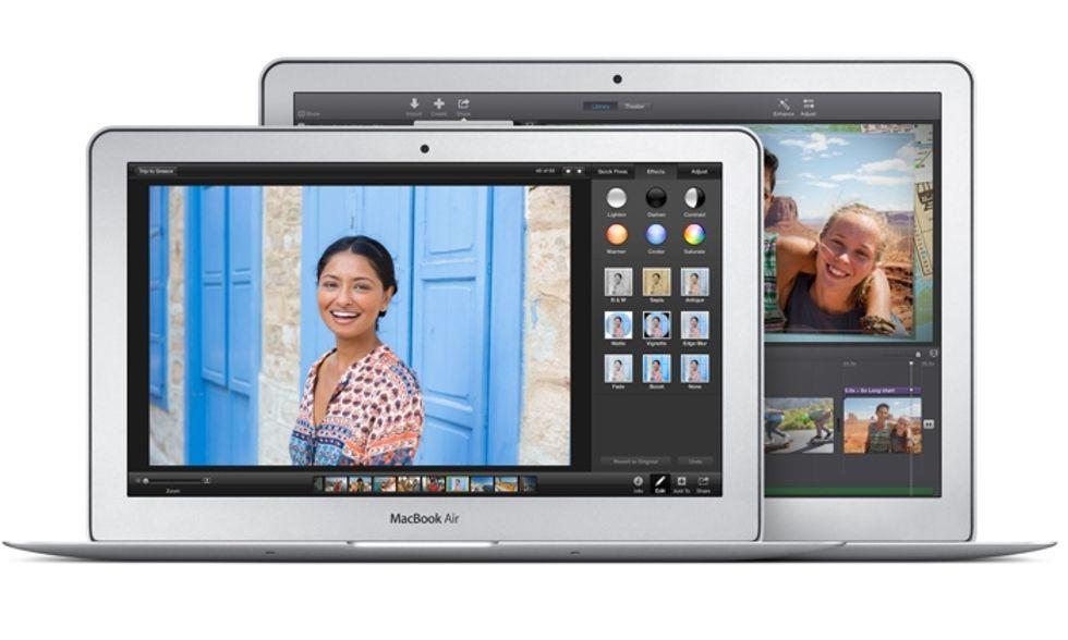 Apple: ecco i nuovi MacBook Air
