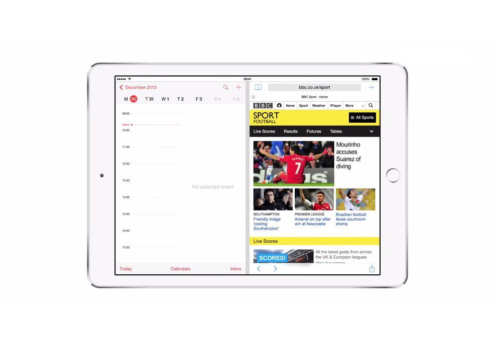Apple: con iOS 8 lo schermo dell'iPad si divide in due